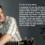 Easton Corbin Message to HIs Fans - CountryMusicRocks.net