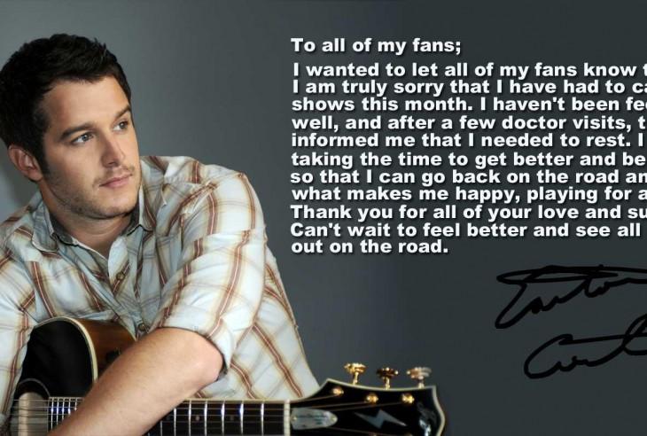 Easton Corbin Message to HIs Fans - CountryMusicRocks.net