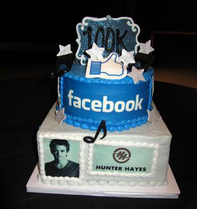 Hunter Hayes 100K Facebook Like - CountryMusicRocks.net