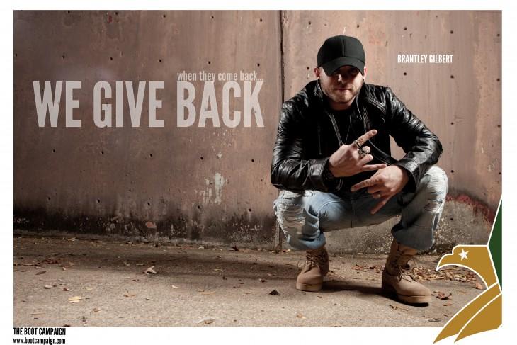 Brantley Gilbert Boot Campaign - CountryMusicRocks.net