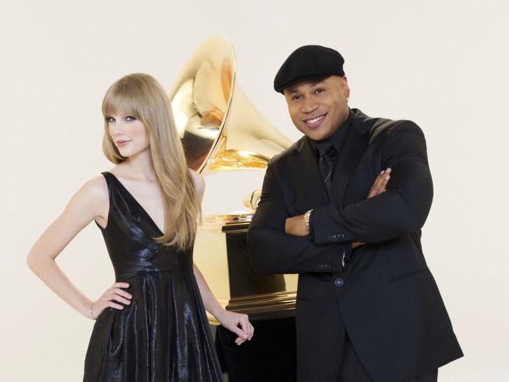 Taylor Swift LL Cool J Grammy Awards - CountryMusicRocks.net