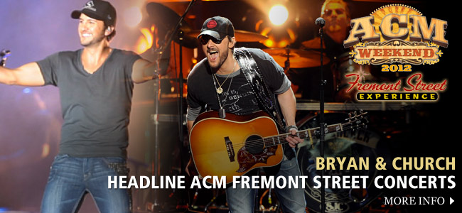 ACM Fremont Street Concerts - CountryMusicRocks.net