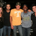 L to R: Sunny Sweeney, Chuck Wicks, Rodney Atkins, Darius Rucker, and Clint Black.Photo Credit: Randi Radcliff
