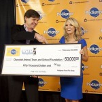 Carrie Underwood CATS Foundation Check - CountryMusicRocks.net