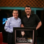 Chris Young and GAC President, Ed Hardy