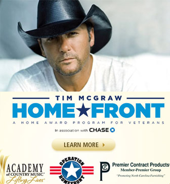 Tim McGraw Home Front - CountryMusicRocks.net