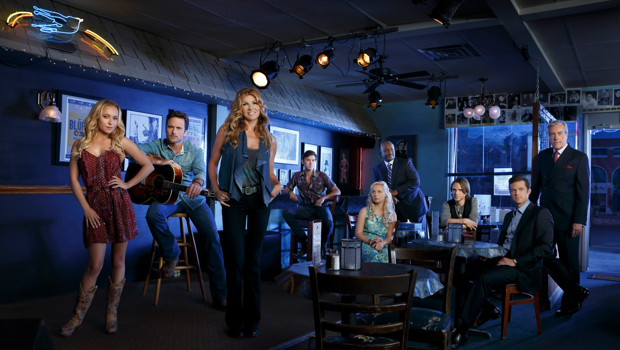 Music Partnership For Drama Series Nashville Country Rocks