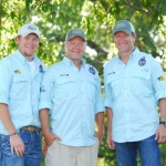 Left to Right: Allen Treadwell, T. Edward Nickens, Craig Morgan Photo Courtesy Outdoor Channel