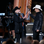 Brad Paisley Willie Nelson Photo Credit John Russell - CountryMusicRocks.net