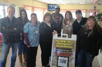 Operation Be Grateful - The FARM & 103.7 FM