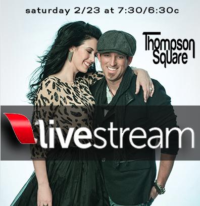 Thompson Square Live Stream - CountryMusicRocks.net
