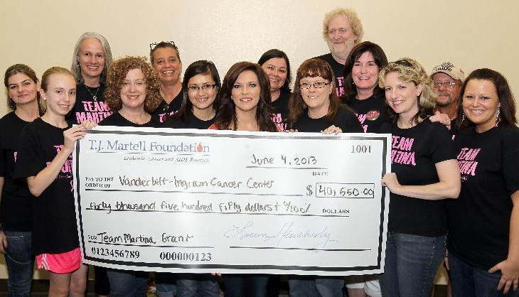 Martina McBride breast cancer research funds raised - countrymusicrocks.net