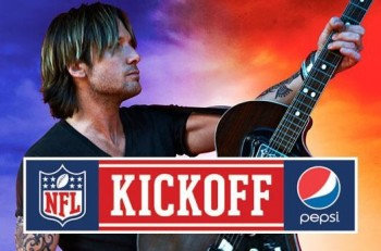Keith Urban NFL Kickoff - CountryMusicRocks.net