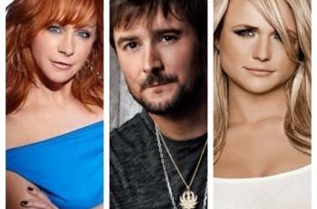 Reba Eric Church Miranda Lambert - CountryMusicRocks.net