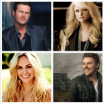 Blake Shelton Miranda Lambert Laura Bell Bundy Chris Young - CountryMusicRocks.net