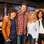 Blake Shelton The Band Perry The Voice - CountryMusicRocks.net