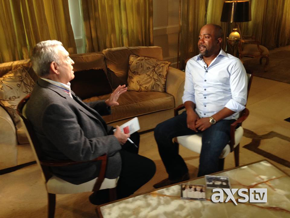 Darius Rucker and Dan Rather AXS TV The Big Interview - CountryMusicRocks.net
