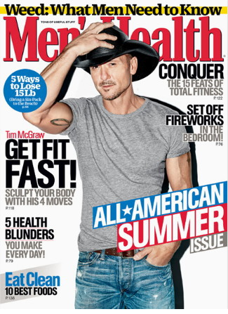 Tim McGraw Men's Health Magazine - CountryMusicRocks.net