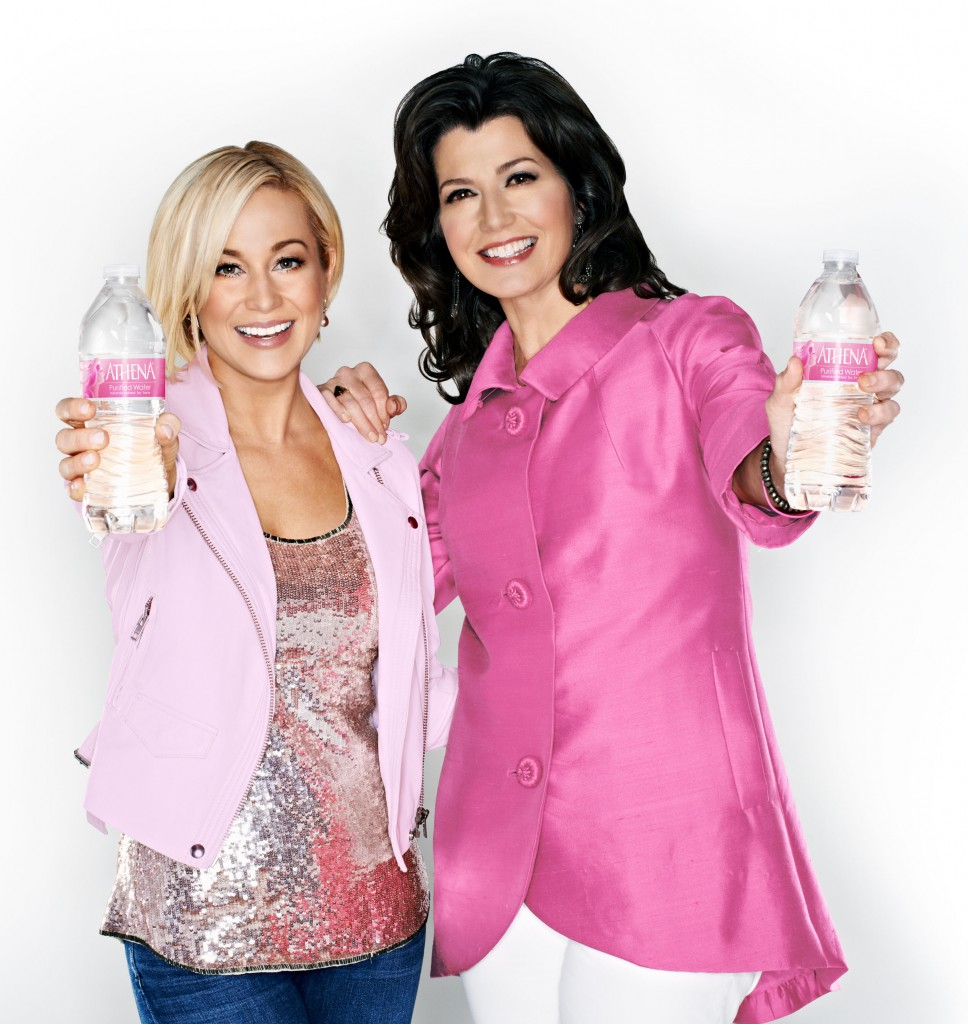 Kellie Pickler Amy Grant Athena Water - CountryMusicRocks.net