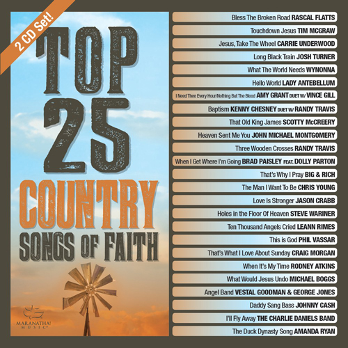 Top 25 Country Songs Of Faith Album Review
