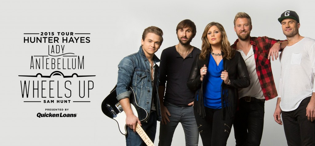Lady Antebellum Wheels Up Tour - CountryMusicRocks.net