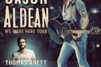 Jason Aldean We Were Here 2016 Tour - CountryMusicRocks.net