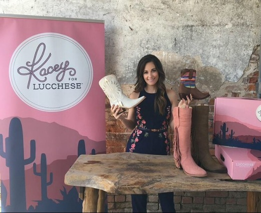Kacey for Lucchese Boot Collection - CountryMusicRocks.net